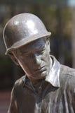 stary posąg mocniej kapelusza Obraz Stock