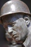 stary posąg mocniej kapelusza Fotografia Stock