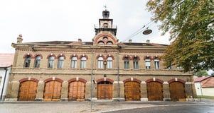 Stary posterunek straży pożarnej, Slavonski Broda, Craotia fotografia stock