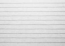 Stary prążkowany notatnika papieru tło Zdjęcia Royalty Free