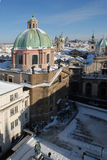 stary Prague miasta zdjęcia stock
