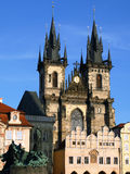 stary Prague placu miasta Obraz Royalty Free
