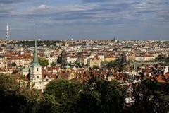stary Prague widok Obrazy Stock