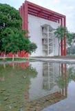 Stary przemysłowego budynku projekt fotografia royalty free