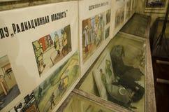 Stary, przemysłowy wentylacja system w piwnicie zaniechany schron, zdjęcie royalty free