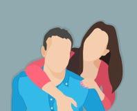 stary przytulić kobiety Zdjęcia Royalty Free