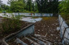 stary pusty basen zdjęcie royalty free