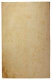Stary pusty brown Kraft papieru tło obraz royalty free