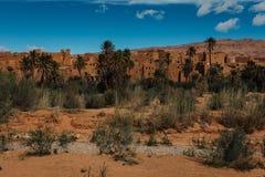 Stary Pustynny miasto Maroko Obrazy Stock