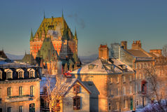 stary Quebec zdjęcia royalty free