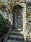 Stary Śródziemnomorski drzwi Obraz Royalty Free