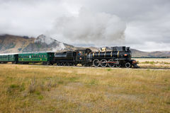 stary równiien bieg pociąg Zdjęcie Stock