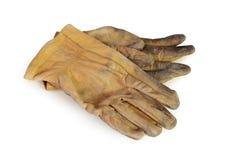stary rękawiczki działanie Fotografia Royalty Free