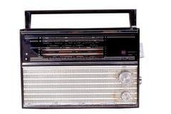 stary radio Fotografia Royalty Free