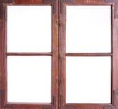 stary ramowy okno Zdjęcie Stock