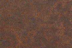 Stary rdzewiejący żelazny tekstury tło zdjęcia stock