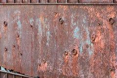 Stary rdzewiejący żelazo fotografia royalty free