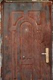Stary rdzewiejący blaszany tło i tekstura obrazy stock