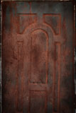 Stary rdzewiejący blaszany tło i tekstura obrazy royalty free