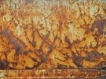 Stary rdzy powierzchni tło i tekstura zdjęcie stock