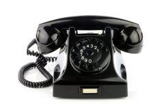 Stary retro bakelita telefon Obraz Royalty Free