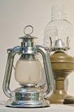 Stary Retro lampion Obrazy Stock