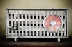 Stary retro radio Fotografia Royalty Free