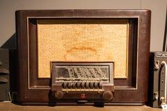 stary retro radiowego Fotografia Stock