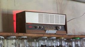 stary retro radiowego Obraz Royalty Free
