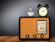 stary retro radiowego Obrazy Royalty Free