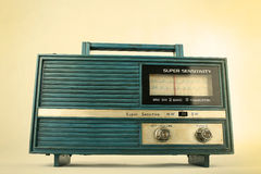 stary retro radiowego Obrazy Stock