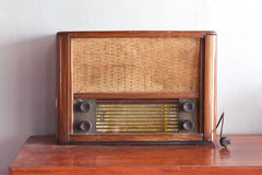 stary retro radiowego Zdjęcie Stock