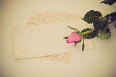 List miłosny Fotografia Stock