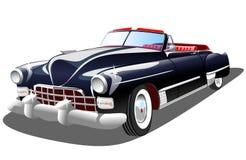 Stary retro samochód na białym tle Fotografia Royalty Free