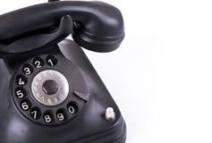 Stary retro telefon Zdjęcia Royalty Free