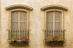 stary rocznik okno Zdjęcie Stock