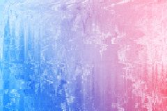 Stary rocznik wietrzejący koloru grunge tło Abstrakcjonistyczna upaćkana antykwarska tekstura z retro wzorem Zdjęcia Royalty Free