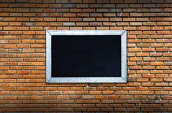 Stary rocznika ściana z cegieł Zdjęcia Stock
