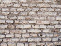 Stary rocznika ściana z cegieł tekstury tło Obraz Royalty Free
