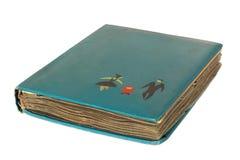 Stary rocznika album fotograficzny Obrazy Stock