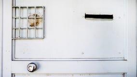 Stary rocznika bielu dom plenerowy Fotografia Stock