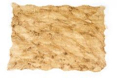Stary, rocznika brudny papier z pobrudzoną teksturą dla tło Obrazy Stock