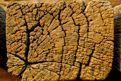 Stary rocznika drewno dławi tekstury tło Fotografia Stock