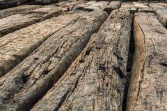 Stary rocznika drewno dławi tekstury tło Obrazy Royalty Free
