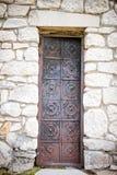 Stary rocznika drzwi obrazy royalty free