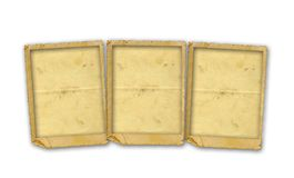 Stary rocznika papier z grunge ramami Zdjęcie Stock