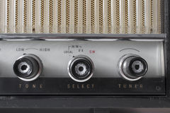 Stary rocznika radio Obraz Royalty Free