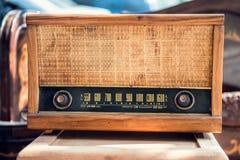 Stary rocznika radio Fotografia Royalty Free