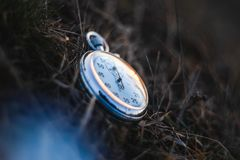 Stary rocznika sowieci Stopwatch zdjęcie stock