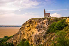 Stary Romański kościół w Drazovce, Sistani Zdjęcia Royalty Free